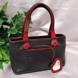 Brighton Collection Top Handle Mini Leather Bag